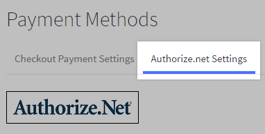 payment setting tab