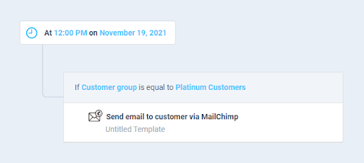 Segment customers and send email