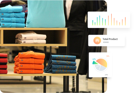 clothes order categorization using Atom8
