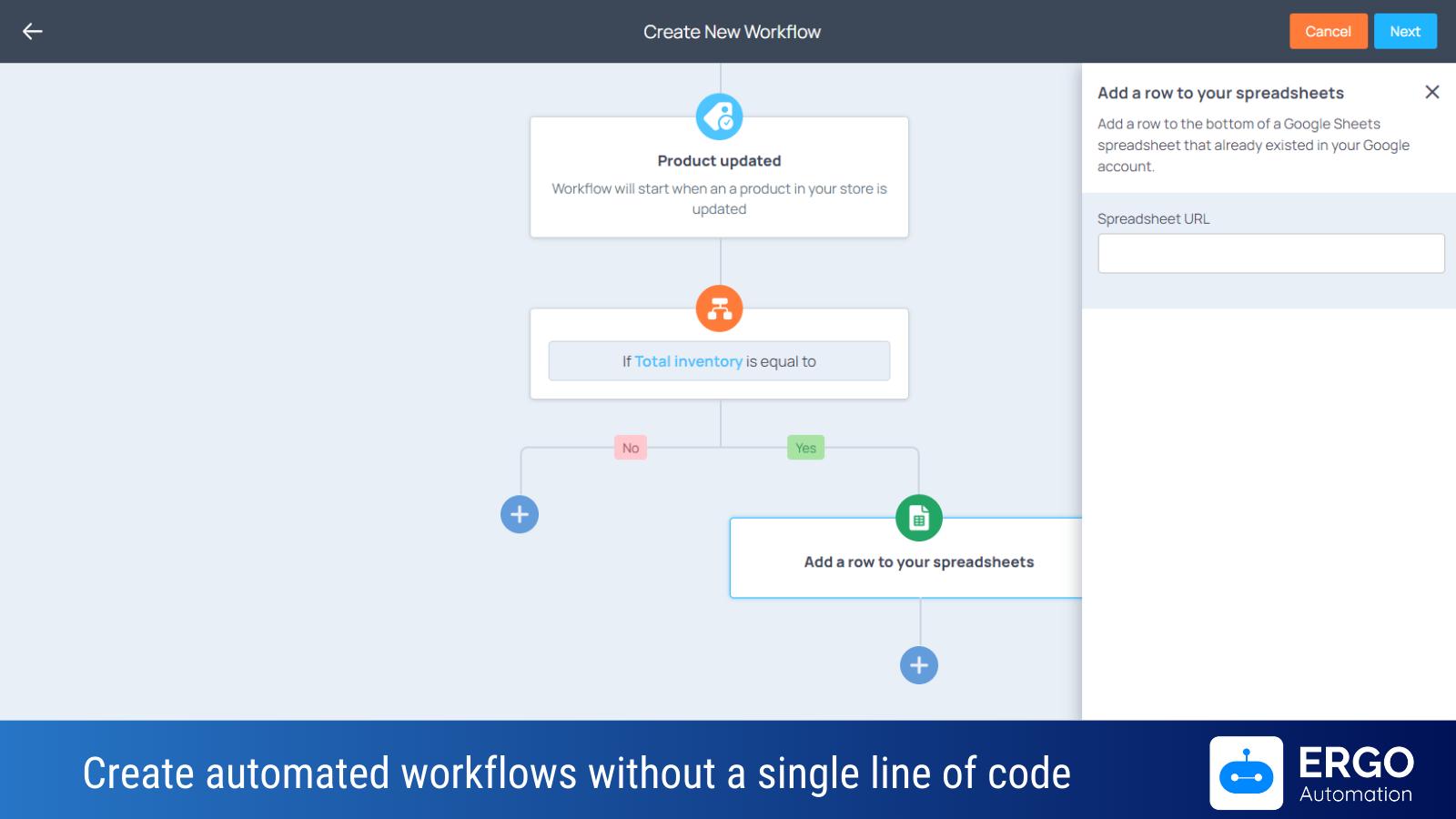 Ergo Automation for Shopify app demo