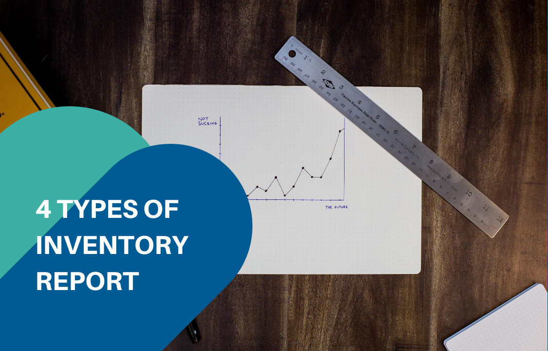 pen on inventory report paper