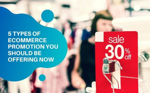 types of ecommerce promotion