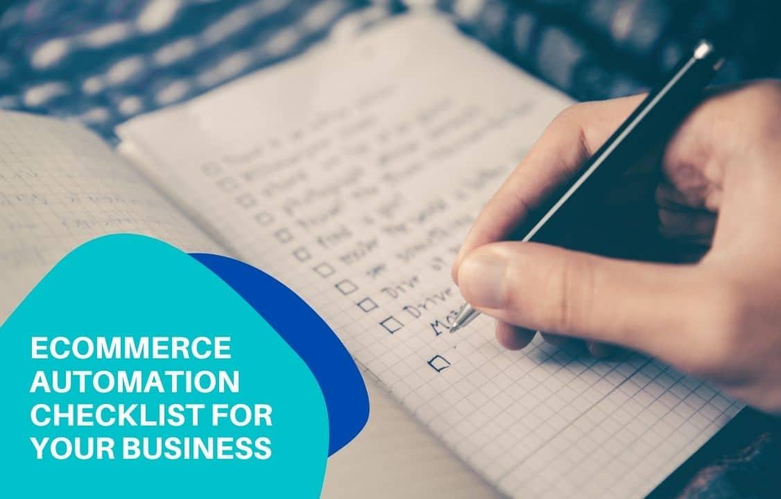eCommerce automation checklist