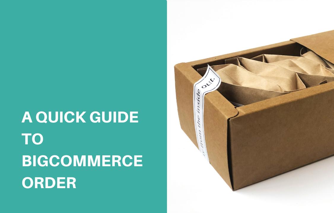 order package in a brown cardboard box