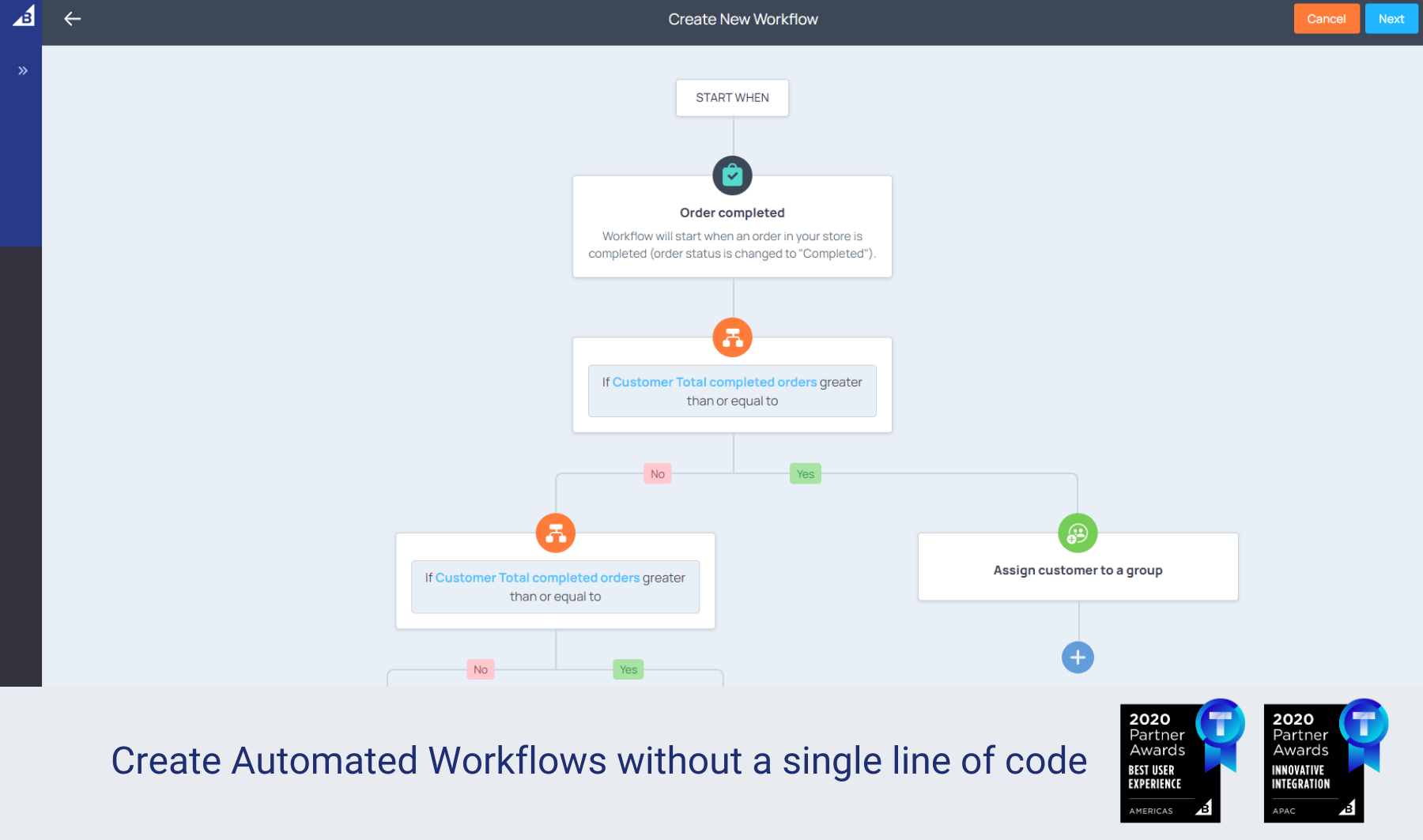atom8 ecommerce automation app workflow demo