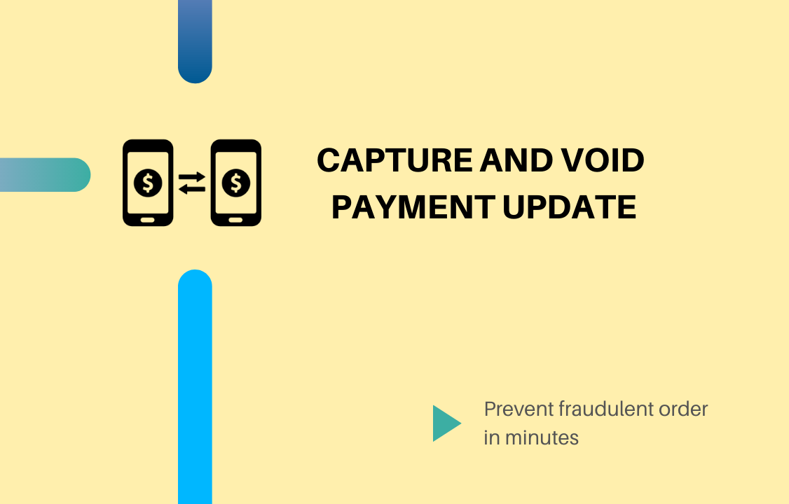 atom8 product update to capture or void payment