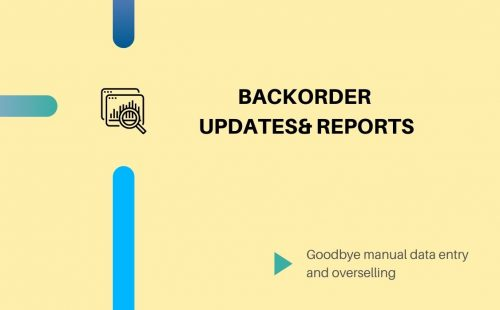 backorder product updates
