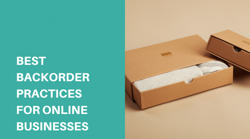 a paper box containing clothes on backorder