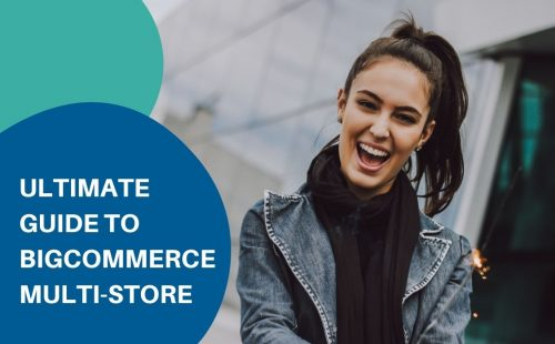 a women smiling for setting up bigcommerce multi-store