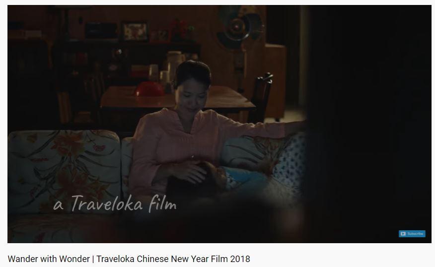 Traveloka advertisement based on psychological customer segmentation