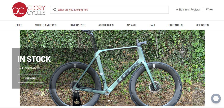 glory cycle website