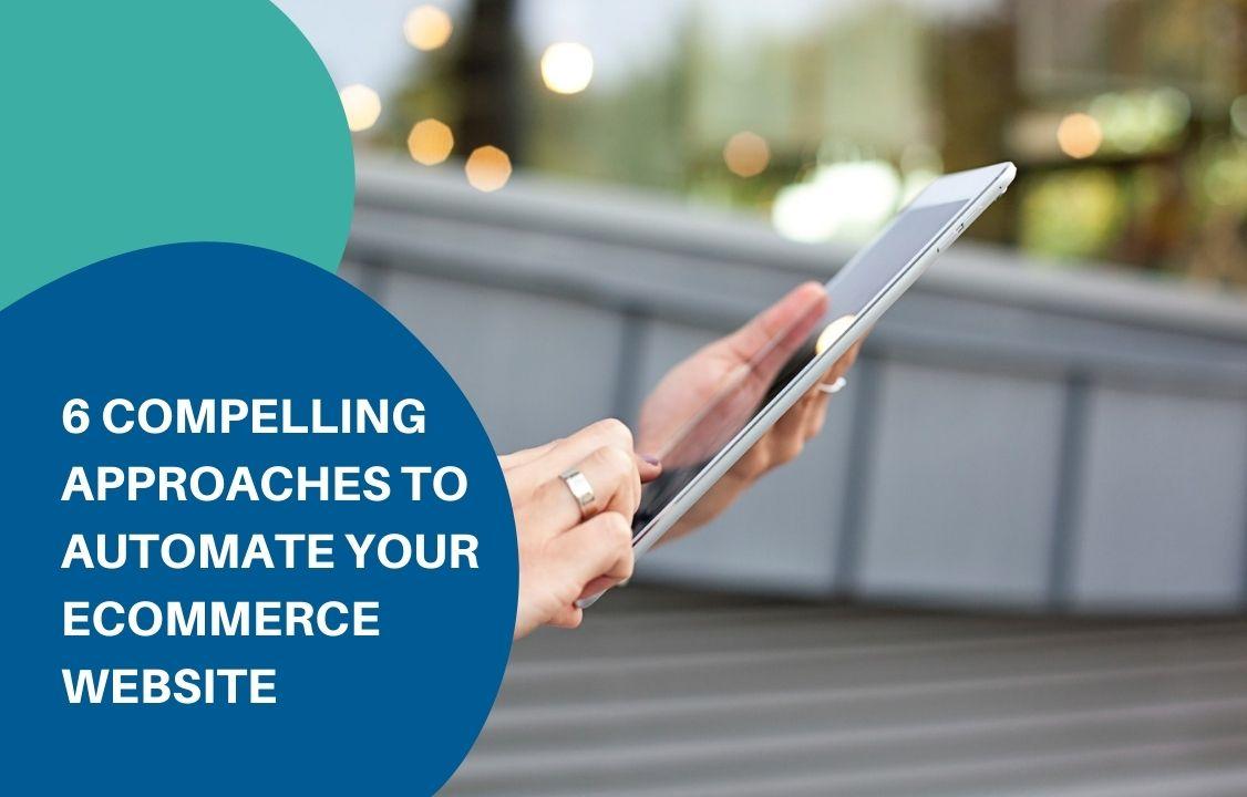 automate eCommerce website