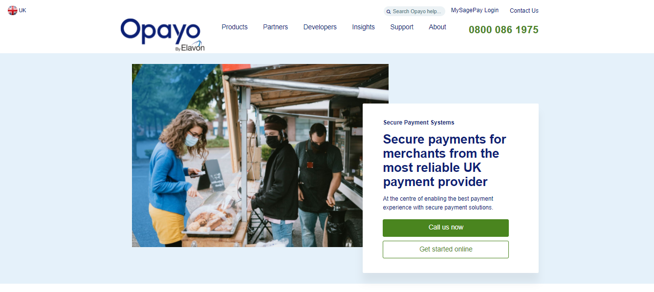Opayo payment gateway for Shopify merchants