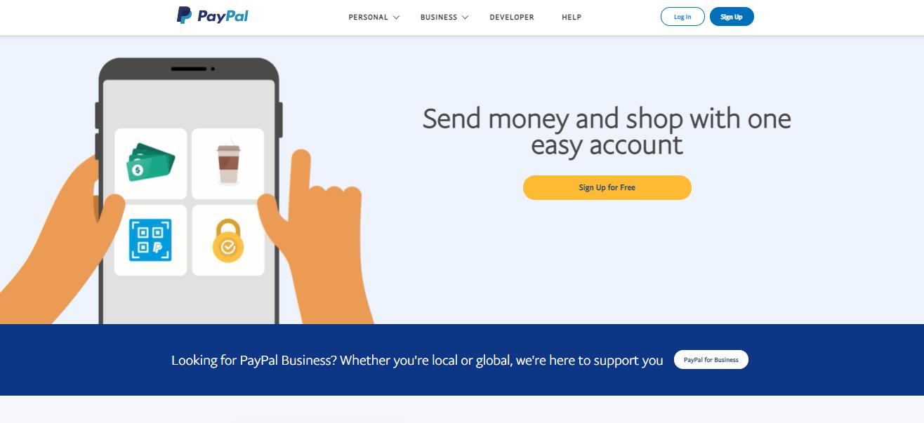 PayPal payment gateway for Shopify merchants