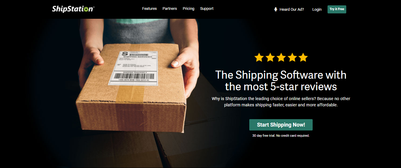 Shipstation the shipping software