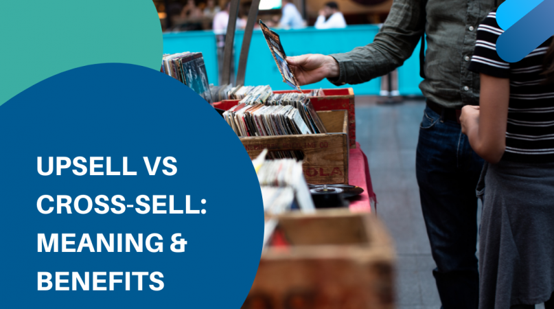 upsell and cross-sell in a music store