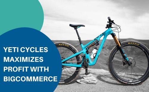 yeti cycles blue bike model
